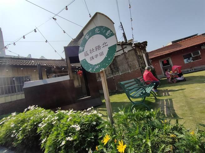 現在這個空間算是北路里的口袋公園,也吸引許多文創青年,或藝術家進駐,更發展出特色文創市集,像是小田稻棧、日落音樂會等等。(吳建輝攝)