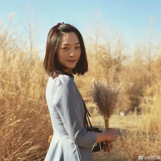 最後電影裡「虞姬」一角被另一位90後女演員何杜娟拿下。(圖/ 摘自何杜娟)