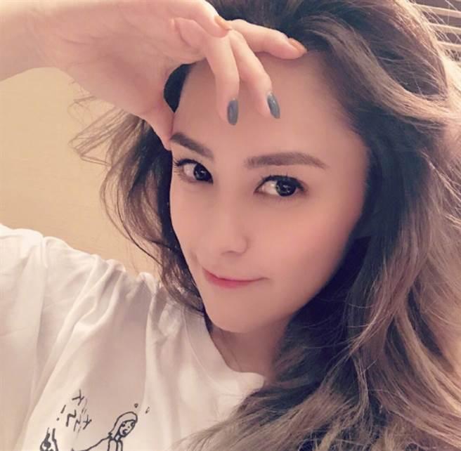香港女星阿嬌(鍾欣潼)。(圖/ 摘自鍾欣潼微博)