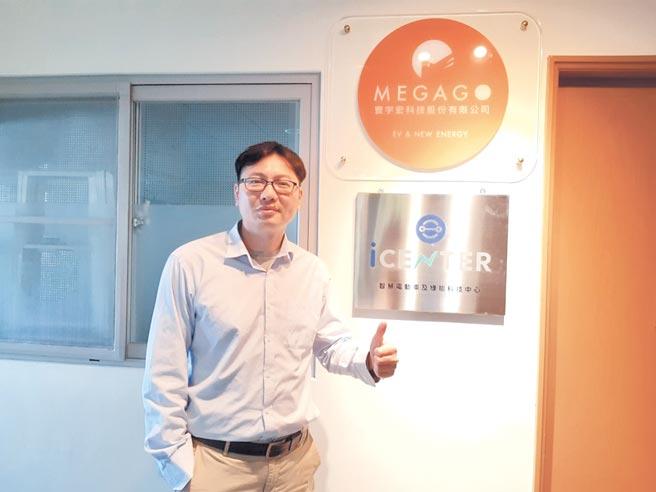 中兴大学电机系赖庆明副教授身兼台湾电动绿能协会秘书长一职,具多年技术及研发实战经验,看好未来新能源车辆生态链逐步成形。图/谢易晏