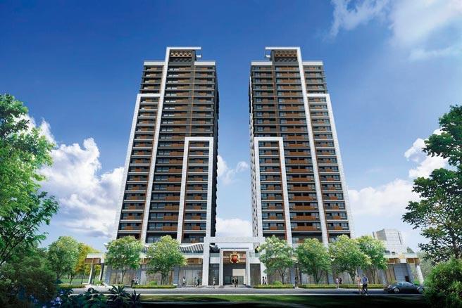 大林口A7重劃區唯一捷運飯店氧生宅「新潤翡麗」,主打3房988萬起,獲得年輕購屋家庭青睞。圖/業者提供