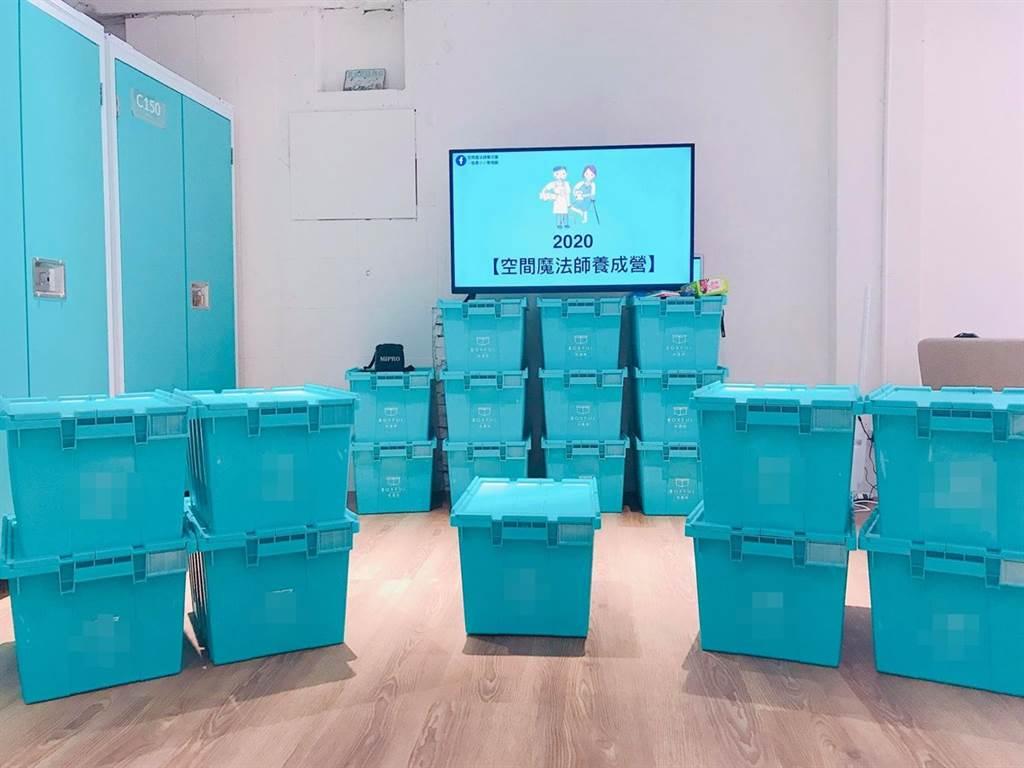打包時可找倉儲業者租小倉庫,將不常使用的物品先放在那,再慢慢整理。(圖片提供/于之琳)