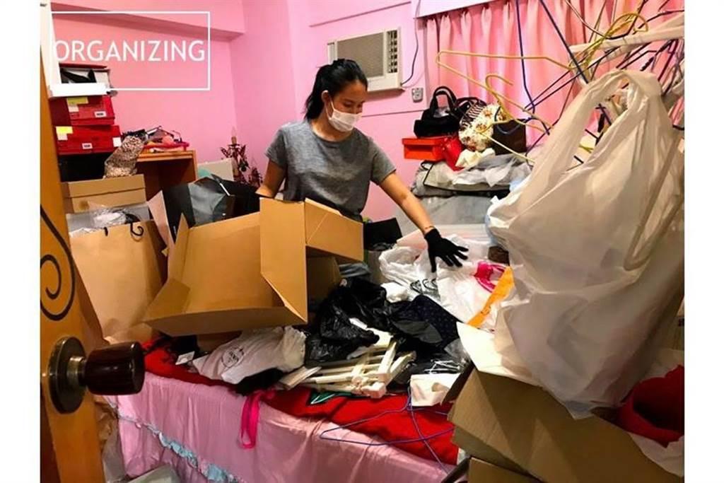如果有預算,可找整理收納師一起整理,找出最適合自己的收納方式。此為示意圖,非囤積症患者的家。(圖片提供/于之琳)