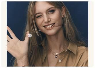 《情人節珠寶》CHAUMET玩連結 兩個半圓組成一個圓