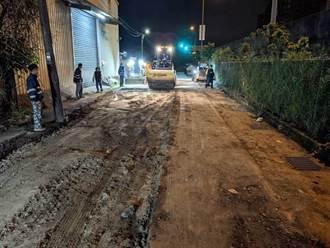 汐止鋪路意外 鏟裝機倒車後方工人遭來回輾壓慘死
