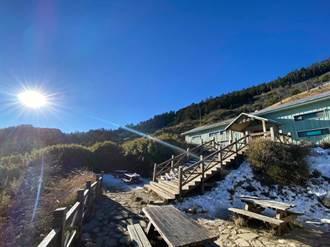 防疫優先雪霸處春節啟動人流管制 大型山屋床位減至100床