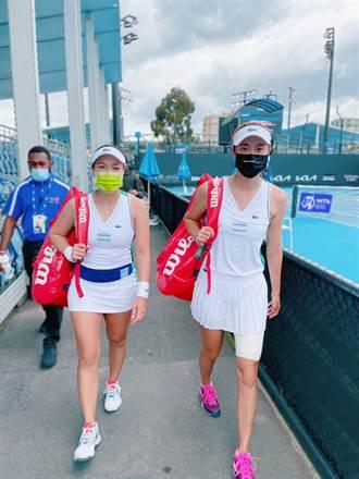 網球》不受休兵1日影響 詹家姊妹安抵四強