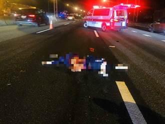 心繫癌夫恍惚 婦騎機上國道遭撞死留4未成年女兒