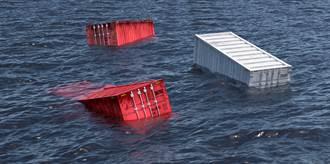 急出事了 一堆貨櫃又落海 歐海運巨頭再爆意外