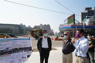 竹北市道路優質化及環境提升工程 預計3月完工