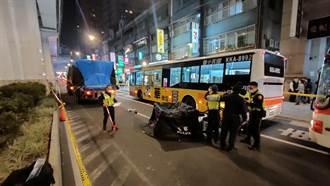 板橋26歲男騎士擦撞倒地 遭拖板車後輪輾過慘死