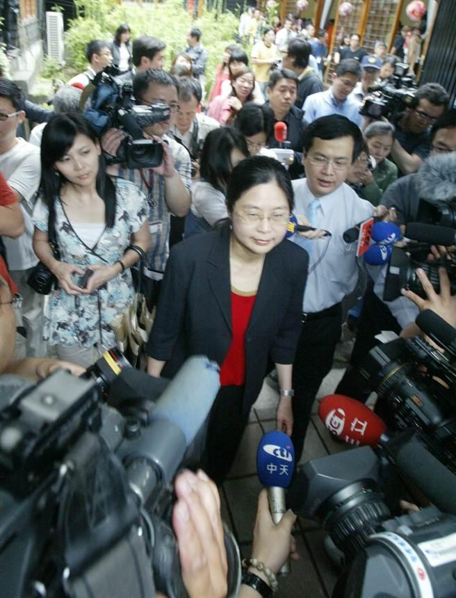 2008年,前台联立委赖幸媛内定接掌陆委会,引起轩然大波。(本报系资料照片)