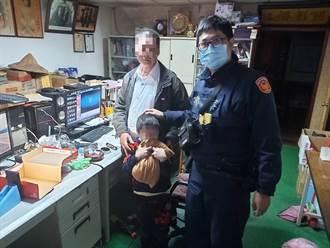 阿公離家躲門口偷看金孫被當賊 警一舉動促成溫馨大團圓