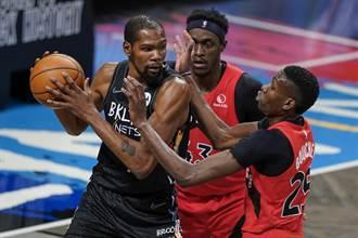 NBA》杜蘭特替補又被要求離場 籃網無奈輸暴龍