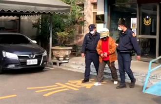 騎車衝撞員警 6旬婦人遭送辦