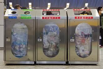日本回收桶內沒分隔卻硬要分兩個洞丟?用途大有學問