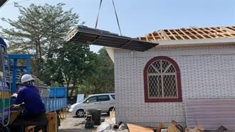 台南做工行善團助玉井火災戶修屋頂 趕過年前完工