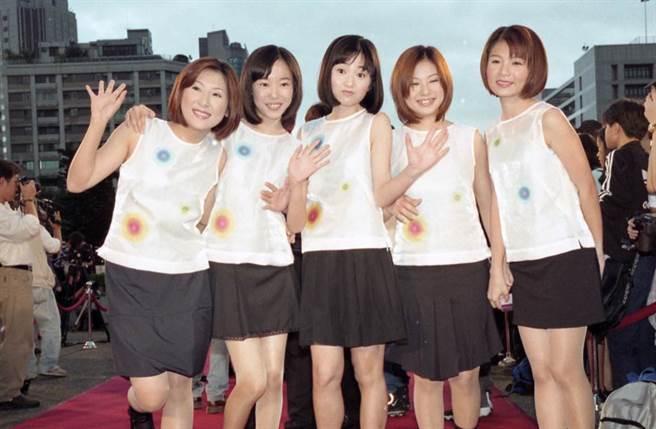 南台灣小姑娘20年前紅極一時,不過團員撕破臉後合體無望。(圖/中時資料照)