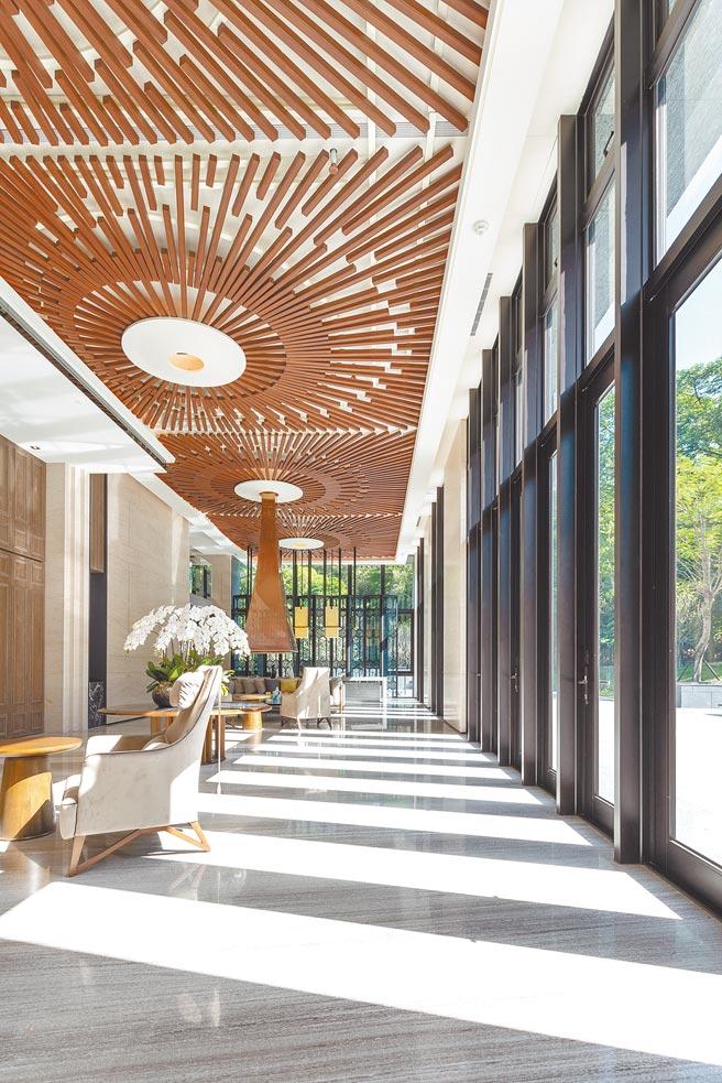 「鄉林山海滙」擁有多元公設,滿足買家對生活品味的要求。(鄉林建設提供)
