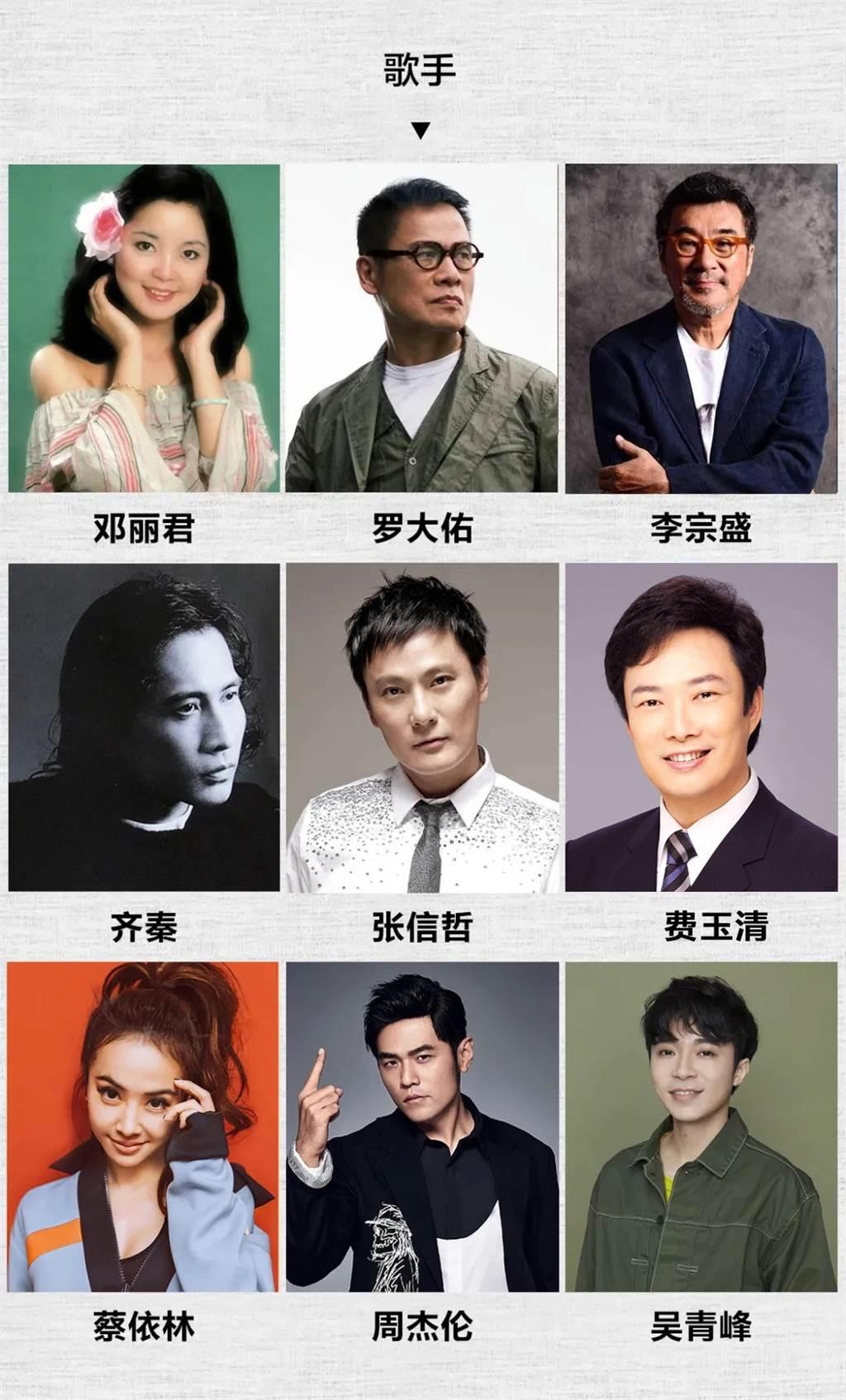 那些年,我們追過的「台灣人」。(製圖:時差島)