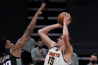 NBA》約基奇狂轟生涯新高50分 金塊還是輸