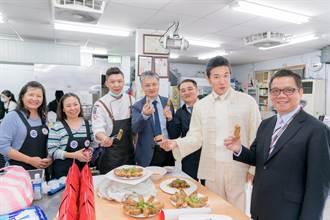 用美食文化交流 明新科大與越南辦事處年菜烹飪教學