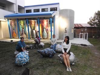 藏身南投農村的小綿羊 大灶美術館自然特展