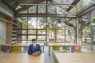 百年建築變身玻璃屋!青少年館升級圖書館