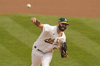 MLB》運動家簽回「爆料者」費爾斯 充實先發輪值