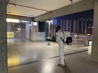 中市春節連假交通防疫 大眾運輸場站環境消毒
