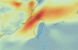 全台空污再一波 明東北風增強 連宜蘭都很髒
