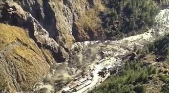 邊境重兵對峙 印度北部冰川斷裂引爆山洪 傷亡或達150人