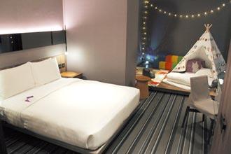 永安棧推宅度假 客房變身遊戲室