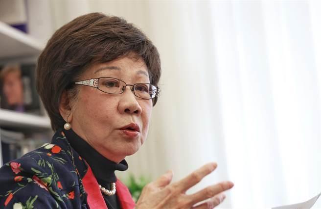 前副總統呂秀蓮。(本報資料照/陳信翰攝)