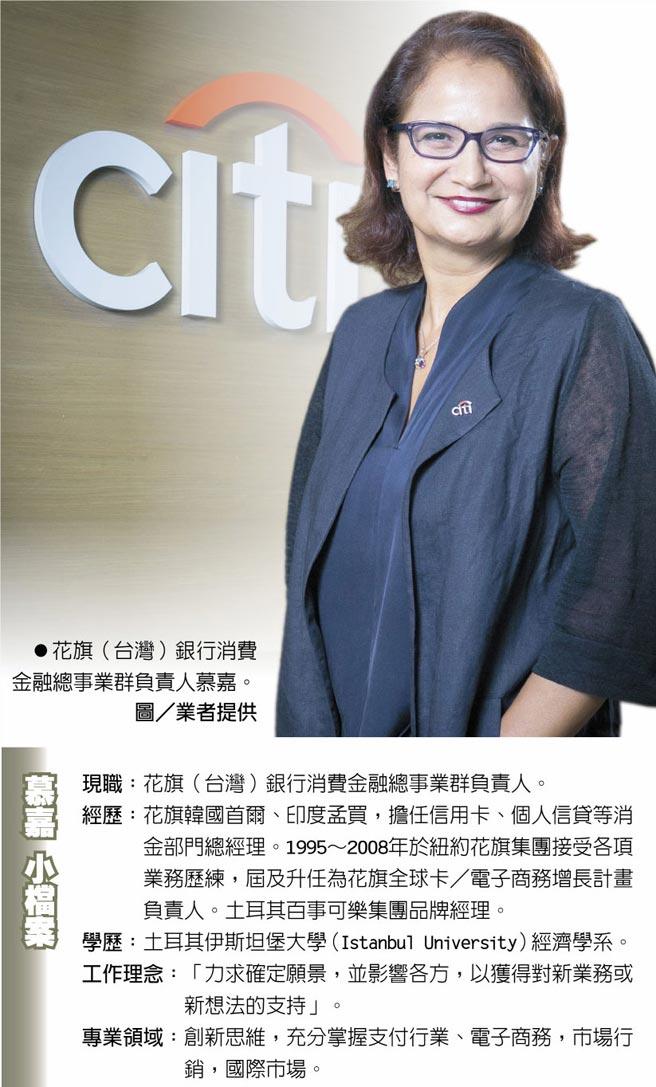花旗(台灣)銀行消費金融總事業群負責人慕嘉。圖/業者提供