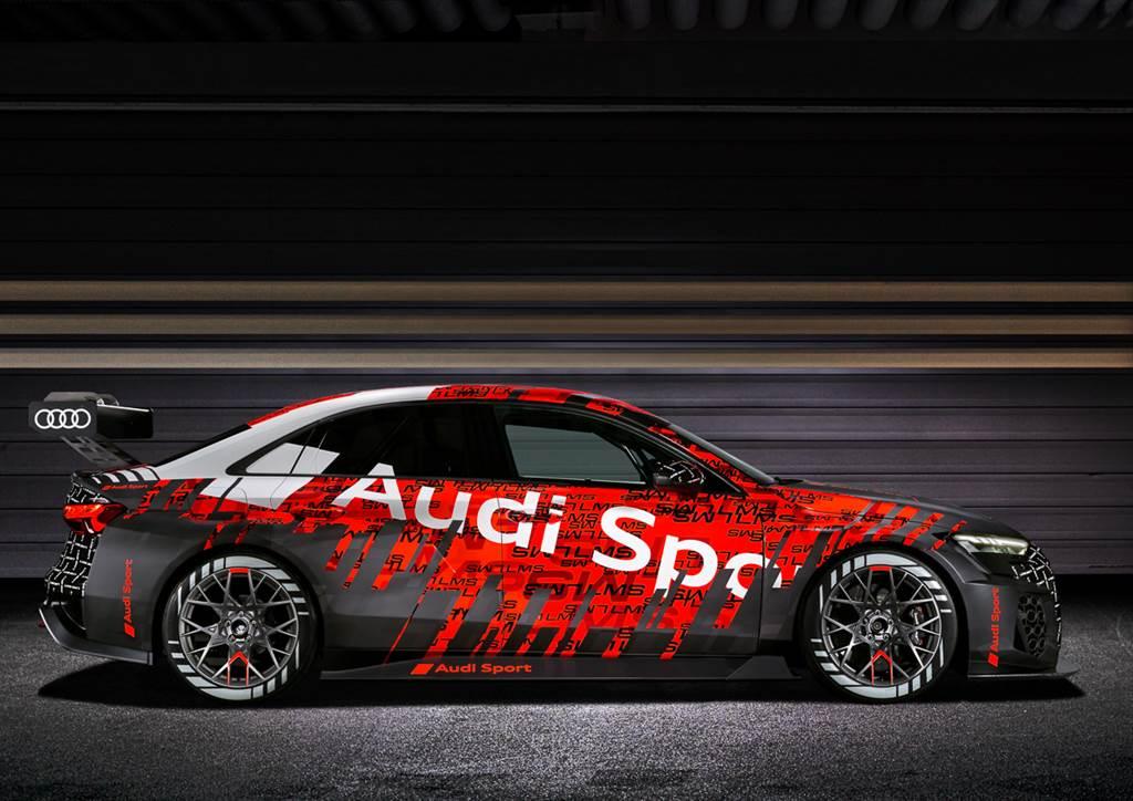 RS 3的變相預告?Audi 第二世代RS 3 LMS賽車定裝現身