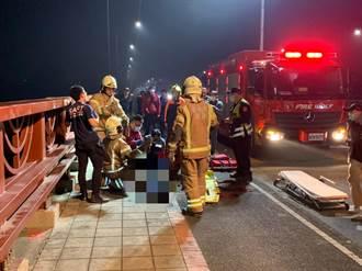 中年男跳曾文溪橋 無呼吸心跳送醫急救