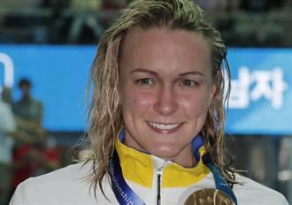 奧運明星受傷!瑞典蝶泳公主跌斷手肘