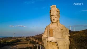 全台最高站姿媽祖像在這 春節與家人一同朝聖