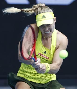 澳網》2016年女單冠軍可貝爾首輪爆冷出局