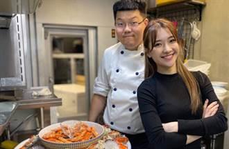 超級年菜吃到痛風也甘願 陳予新手做芋頭糕PK大廚海味彭湃餐