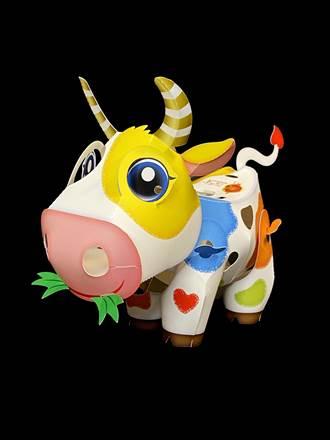 今年小提燈亮相 「活力牛」結合IG、臉書玩互動