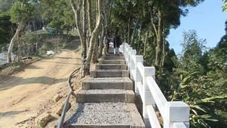 公館銃庫山飽覽山海景致 步道改善提升登山品質