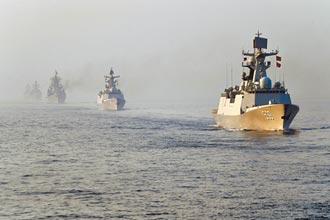 大連外海 執行軍事任務近2個月