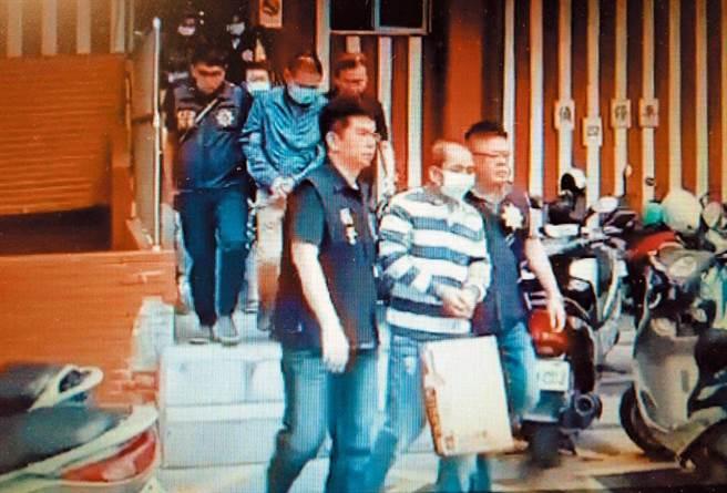 神祕毒梟黃大彰被捕,一舉瓦解台灣重要販毒集團。(檢警提供/林和生屏東傳真)