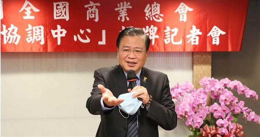 商總理事長許舒博認為政府在照顧企業時應該多開放,避免只有管理,把產業管死的政府不是好政府。(圖/商總提供)