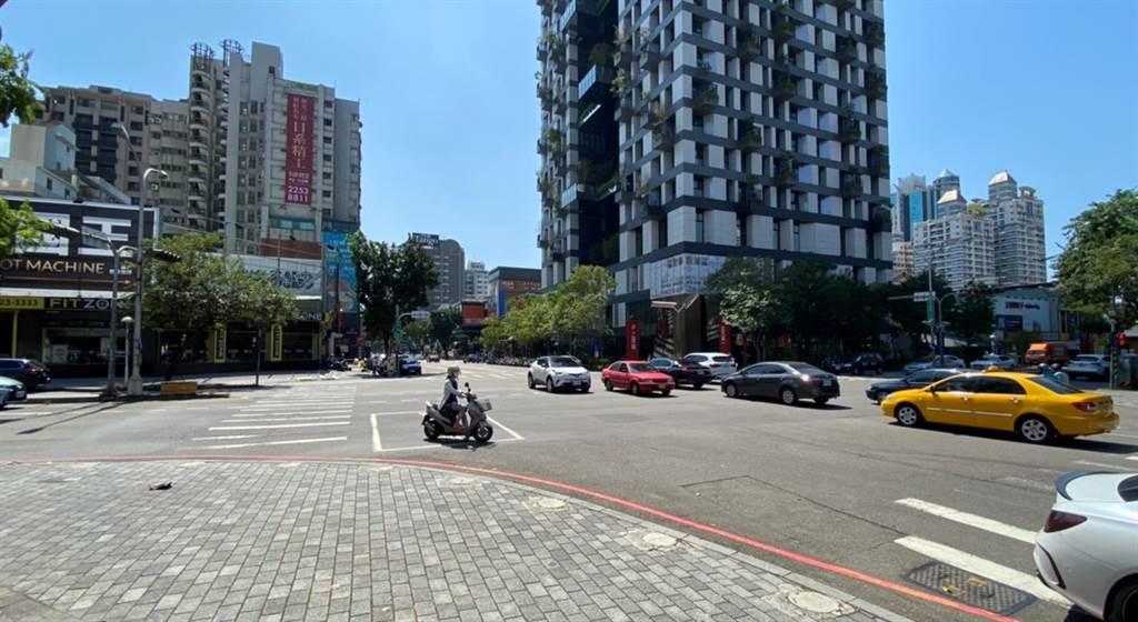 台中五期掀投資卡位戰,圖為公益大墩商圈街景。(台灣房屋南屯大墩特許加盟店提供)
