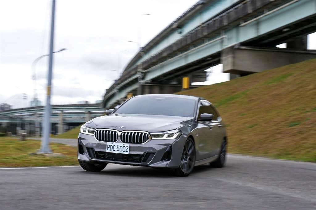 由於主打乘坐舒適性,儘管擁有BMW打造的優異底盤,630i M Sport在激烈操駕時容易帶給駕駛者與乘客較強的不適感。(陳彥文攝)