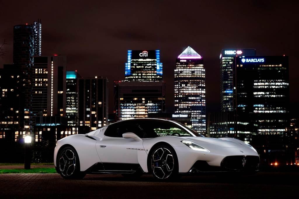 屢獲獎項!Maserati MC20再度成為全球汽車舞臺焦點