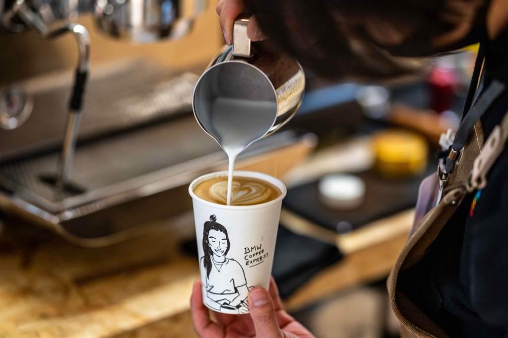 凡完成指定任務即可獲得咖啡一杯及BMW限量好禮。